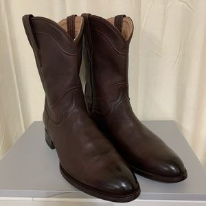 Tecovas Brown Calf Leather Western Boots 13